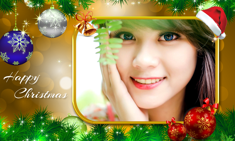 happy christmas photo frames – Apps Drive